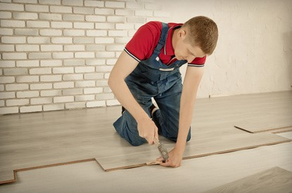 For high traffic areas of your home, consider putting in laminate or hardwood flooring.