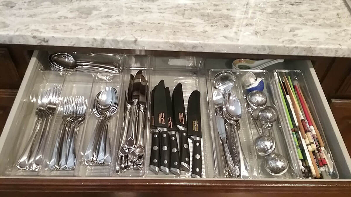 Laura Morgan Kitchen Organization After