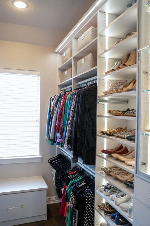 Custom Closet Shelves Storage Allen TX