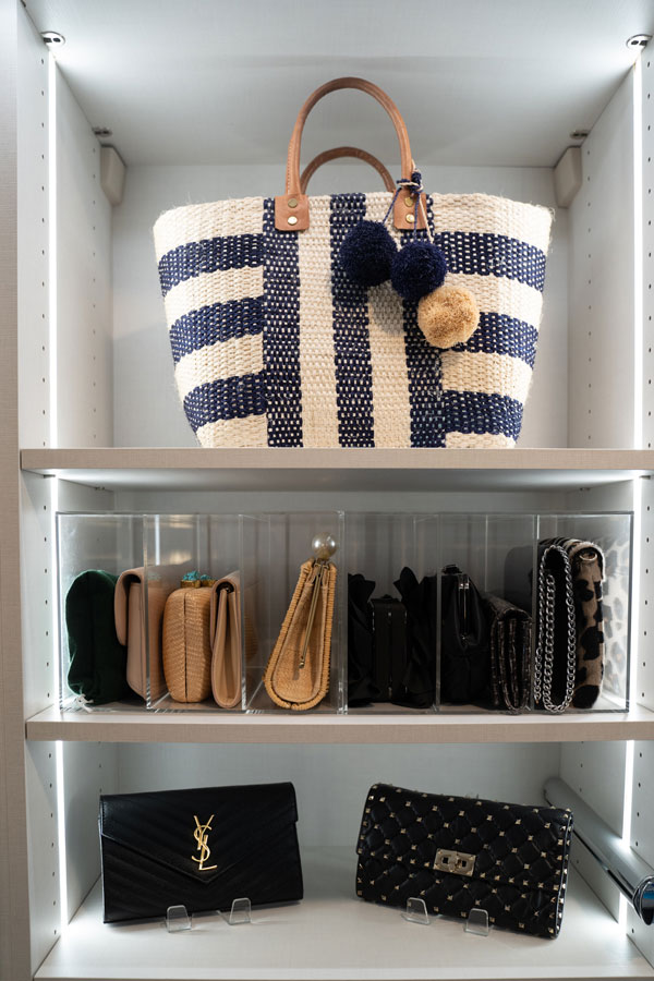 Purse and Handbag custom closet organizer allen tx