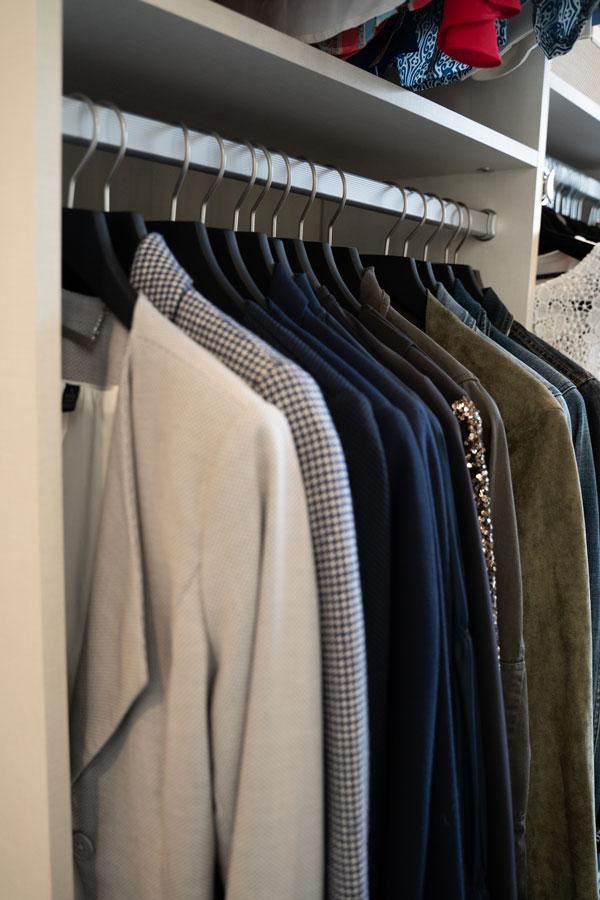 Mens Coat Closet Organizer